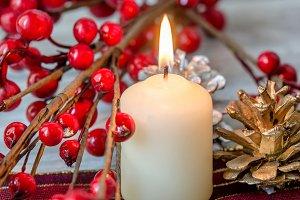 vela navidad