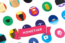 Honey Jar Iconset