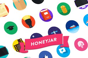 Honey Jar Iconset