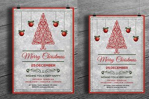 Christmas Invitation Template-V116