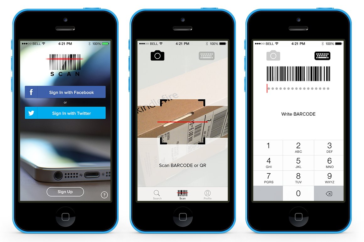 Iphone Apps Design Templates