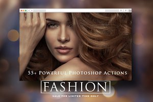 Fashion Pro Photoshop actions Bundle