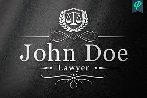 Lawyer, Attorney, Law Firm Logo