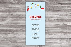 Christmas Invitation Card IV01