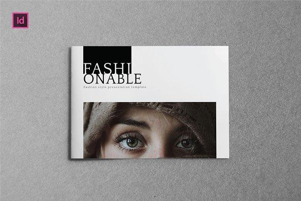FASHIONABLE - A5 Brochure