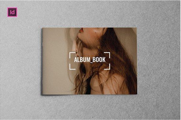ALBUM BOOK LANDSCAPE - A5 Brochure