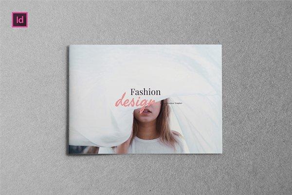 FASHION DESIGN - A5 Brochure