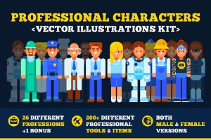 50%OFF • Professional Characters Kit