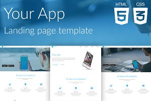 Your App | Website template