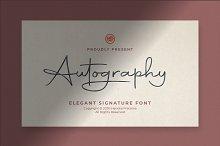 Autography - Signature Font