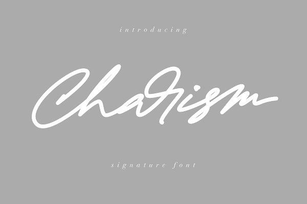 Charism Signature Font
