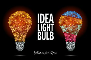 IDEA LIGHT BULB. This Is For You