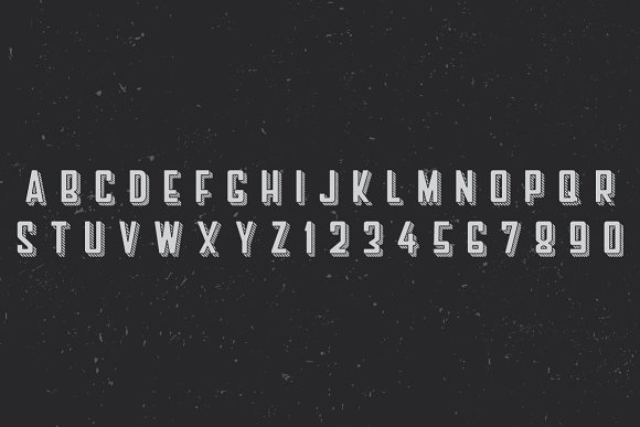 Barber Label Typeface in Display Fonts - product preview 1