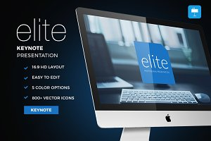 Elite - Keynote Template
