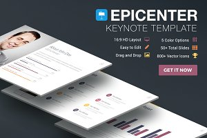 Epicenter - Keynote Template