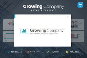 Growing Company - Keynote Template