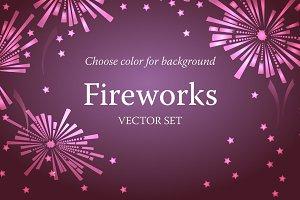Fireworks patterns