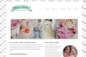 Responsive Wordpress Theme - Bloom
