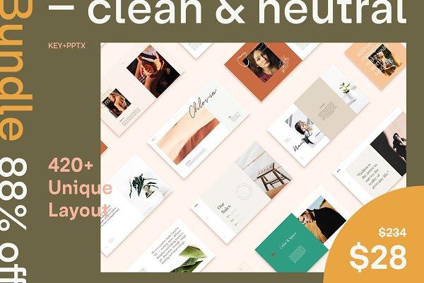 Clean & Neutral Bundle Presentation