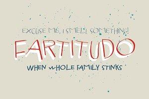 Fartitudo Font Family