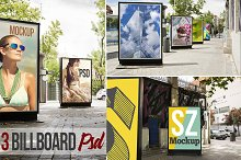 Billboard city PSD