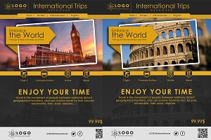 Travel And Explore Tour Flyer