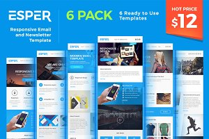 Esper - [Bundle] 6 Email Templates