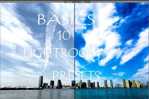 Lightroom presets-basics