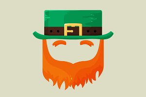 Irish St. Patricks Day leprechaun