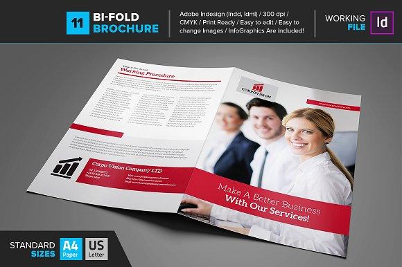Bi-Fold Brochure 11 in Brochure Templates
