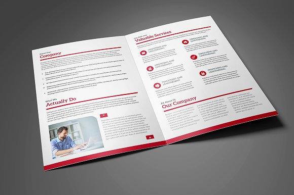 Bi-Fold Brochure 11 in Brochure Templates - product preview 1