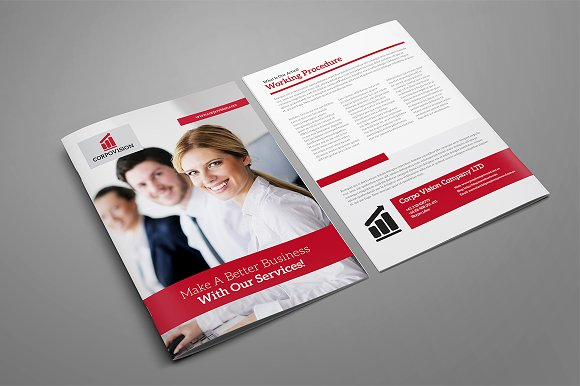 Bi-Fold Brochure 11 in Brochure Templates - product preview 2