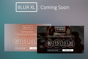 BLUR XL : Coming soon
