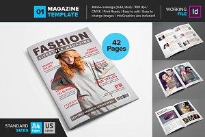 Magazine Template 01