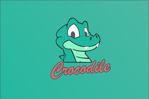 Crocodile Logo Template