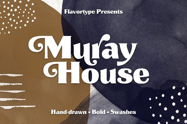 Muray House Handdrawn Font + Extras