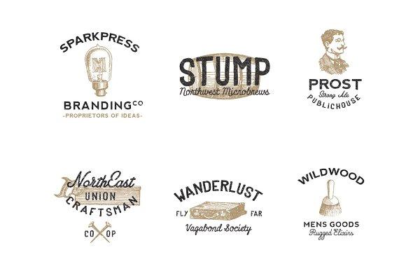 Vintage Americana Logos (Volume II)