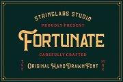 Fortunate - Original Hand Drawn Font