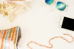 Summer style mock up image