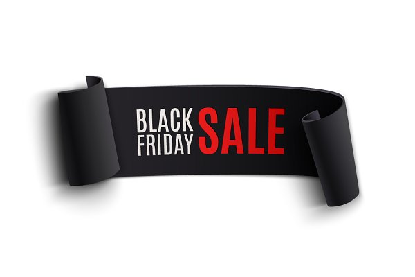Black Friday banner.