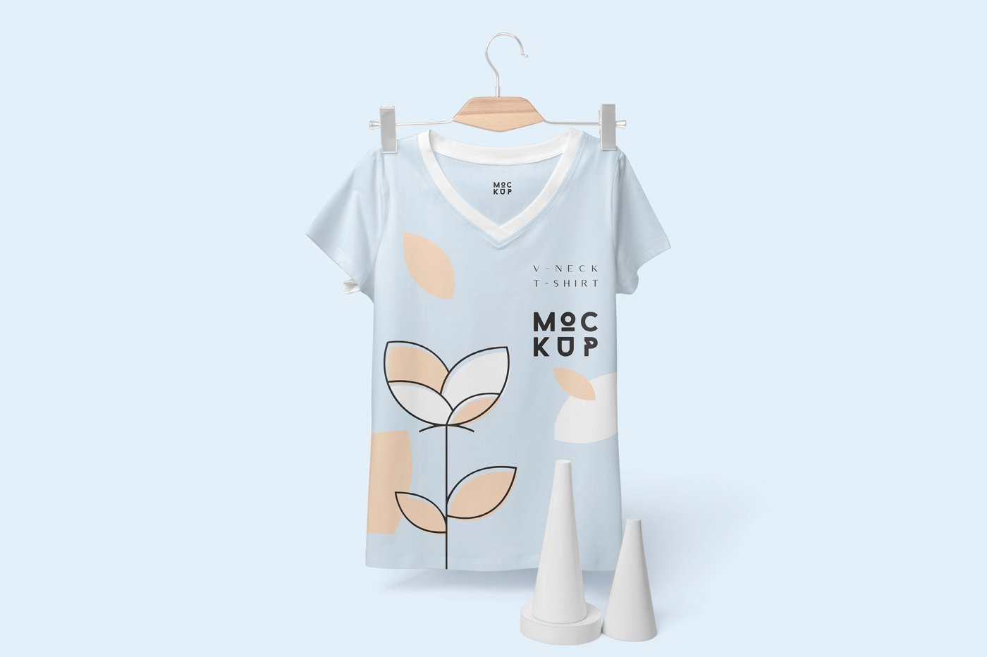 Round Neck T Shirt Mockup Psd Free