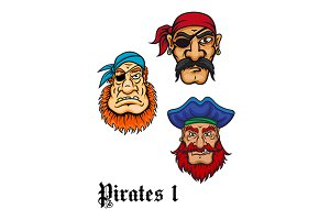 Cartoon danger pirates