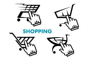 Shopping cart and retail business ic