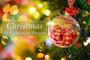 35 Christmas Lr Presets
