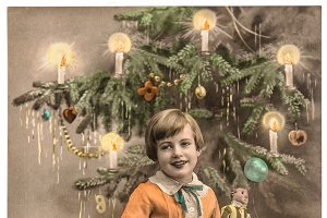 Happy child Christmas tree 50%OFF
