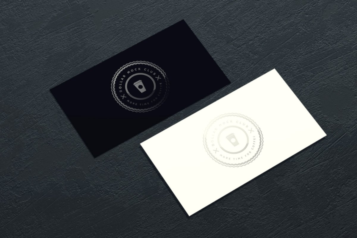 Spot uv business card mockup product mockups creative market reheart Images