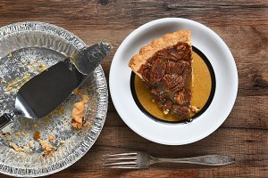Last Slice Pecan Pie