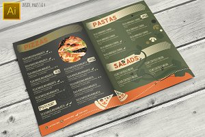Pizzeria Restaurant Menu