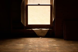 Abandoned Attic in Old House