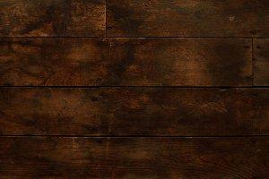 Timeworn Horizontal Wood Floor